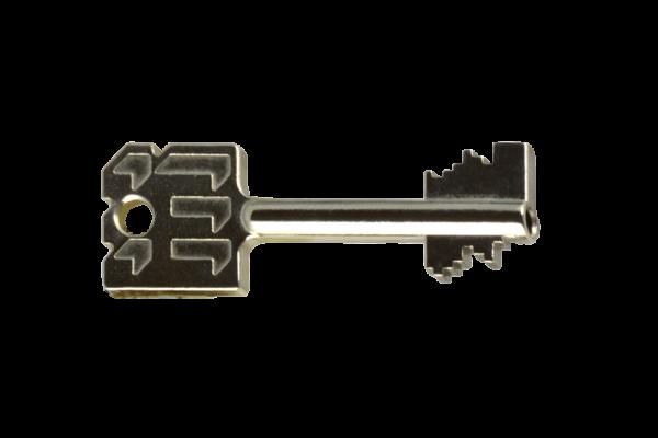 Dubbelbaard sleutel
