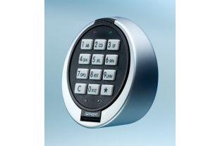 Elektronisch slot 'Multicode' (in plaats van standaard)