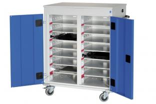 Orgami Laptop Trolley 30-vaks met stroomvoorziening kopen? | Outletkluizen.be
