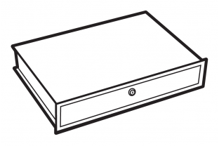 Chubbsafes lockable drawer, size 110-300  - Free Delivery